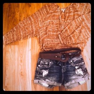 MAKE ME AN OFFER - Buckle Blouse (blouse only)